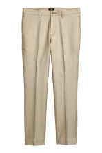 Chinos Slim fit - Light beige - Men | H&M CN 1