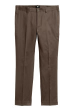 Chinos Slim fit - Brown - Men | H&M CN 2