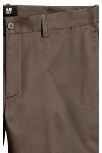 Chinos Slim fit - Brown - Men | H&M CN 4