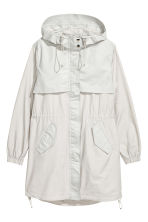 Nylon-blend parka - Light beige - Ladies | H&M CN 2