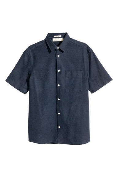 Short-sleeve shirt Regular fit Model