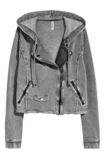 Sweatshirt jacket - Grey - Ladies | H&M 2