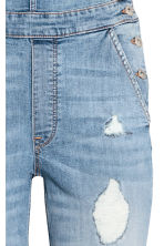 Denim dungarees - Light denim blue - Ladies | H&M CN 3