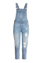 Denim dungarees - Light denim blue - Ladies | H&M CN 1