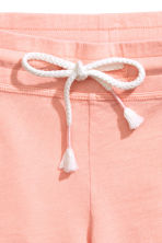 Slub jersey shorts - Powder pink - Ladies | H&M 3