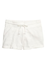 Tricot short - Wit - DAMES | H&M BE 2