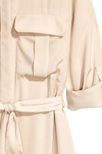 Chemisier in satin - Beige chiaro - DONNA | H&M IT 3