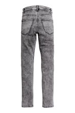 Skinny Regular Jeans - Grigio/Acid - UOMO | H&M IT 3