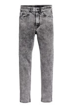 Skinny Regular Jeans - Grigio/Acid - UOMO | H&M IT 2