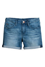 Denim shorts - Denim blue - Kids | H&M CN 2