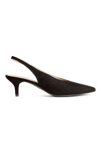 Slingbacks - Black - Ladies | H&M GB 2