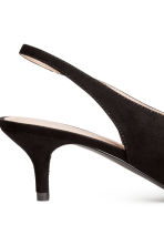 Slingbacks - Black - Ladies | H&M 5