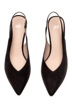 Slingbacks - Black - Ladies | H&M 3
