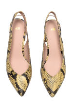 Slingbacks - Snakeskin print - Ladies | H&M 3