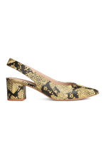 Slingbacks - Snakeskin print - Ladies | H&M 2