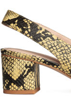 Slingbacks - Snakeskin print - Ladies | H&M 5