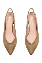 Slingbacks - Khaki - Ladies | H&M CN 3