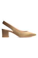 Slingbacks - Khaki - Ladies | H&M CN 2