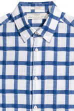 Shirt Regular fit - Blue/White/Checked - Men | H&M 2