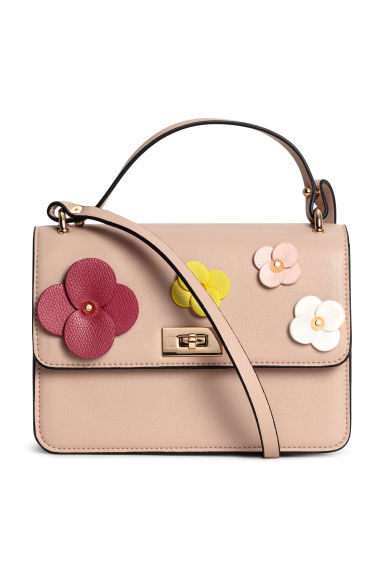 Shoulder bag - Powder/Floral - Ladies | H&M 1