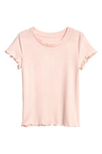 Jersey top - Powder pink -  | H&M CN 2