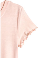 Jersey top - Powder pink -  | H&M CN 3