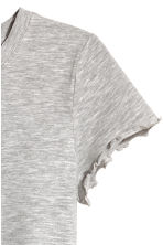 Jersey top - Grey marl -  | H&M CN 2