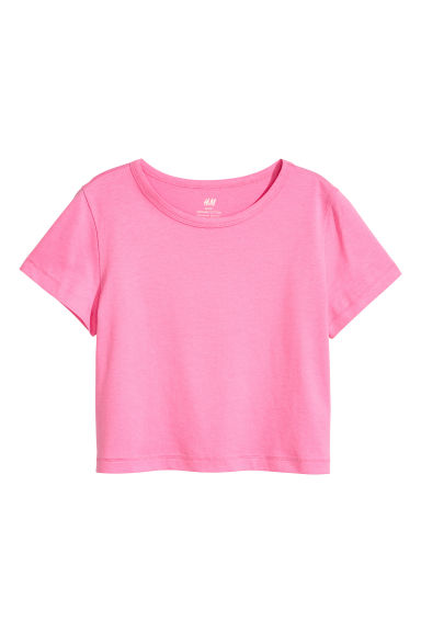 Top en jersey - Rose -  | H&M FR