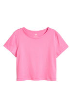 Jersey top - Pink - Kids | H&M 1