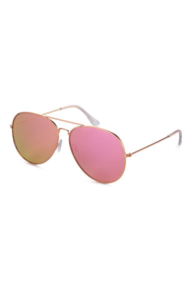 Sunglasses - Gold/Pink -  | H&M