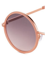 Sunglasses - Rose gold - Ladies | H&M CN 3