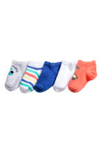 5-pack trainer socks - Cornflower blue - Kids | H&M 2