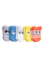 5-pack trainer socks - Yellow -  | H&M 1