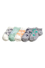 5-pack trainer socks - Grey/Palms - Kids | H&M 1