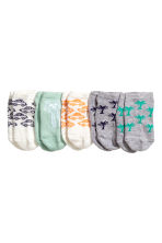 5-pack trainer socks - Grey/Palms - Kids | H&M 2