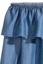 Off-the-shoulder blouse - Denim blue - Ladies | H&M 3