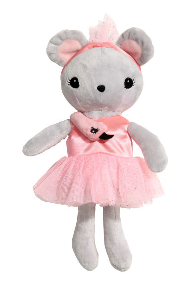 Soft toy - Grey/Pink - Kids | H&M 1