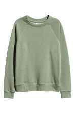 Sweatshirt - Khakigrön - Ladies | H&M FI 2