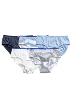 5-pack briefs - Dark blue/Spotted -  | H&M 1