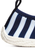 Scuba swim shoes - Dark blue/Striped -  | H&M 3