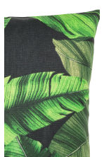 Copricuscino con stampa - Nero/verde scuro - HOME | H&M IT 2