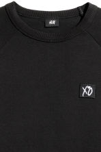 Sweatshirt - Black/XO - Men | H&M 4