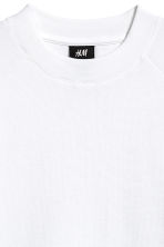 Waffled T-shirt - White - Men | H&M CN 3