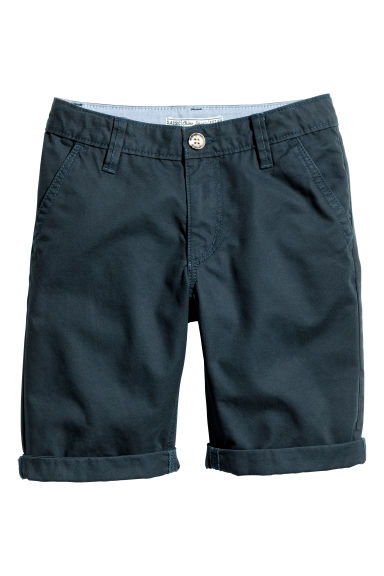 Shorts chinos Taglie forti - Blu scuro -  | H&M IT 1