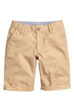 Shorts chinos Taglie forti - Beige -  | H&M IT 1