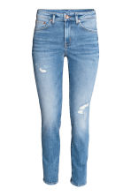Slim Regular Ankle Jeans - Azul denim - SENHORA | H&M PT 2