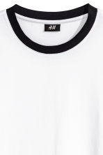 Cotton jersey T-shirt - White - Men | H&M CN 3