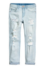 Relaxed Worn Jeans - Light denim blue - Kids | H&M 2
