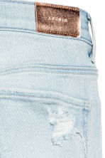 Relaxed Worn Jeans - Light denim blue - Kids | H&M 4