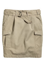 Cargo skirt - Khaki - Ladies | H&M CN 2